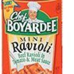 Chef Boyardee Mini Ravioli and Meatballs