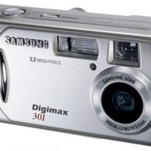 Samsung - Digimax 301 Digital Camera