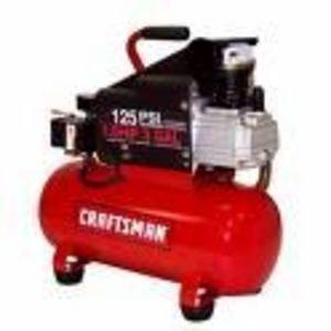 Craftsman 17 Gallon Horizontal Air Compressor