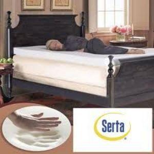 Serta Ultimate 4-inch Memory Foam Mattress Topper