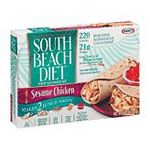 Kraft South Beach Diet  Wrap Sandwich Kits