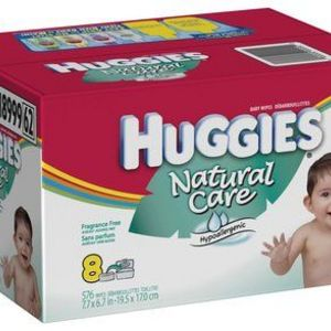Huggies Natural Care Unscented Baby Wipes
