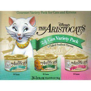 Disney Aristocats Cat Food