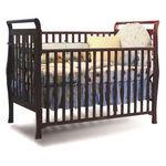 Dorel 3-in-1 Sleigh Crib