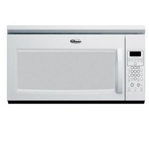 Whirlpool 1000 Watt 1.7 Cu. Ft. Microwave Oven/Hood Combo