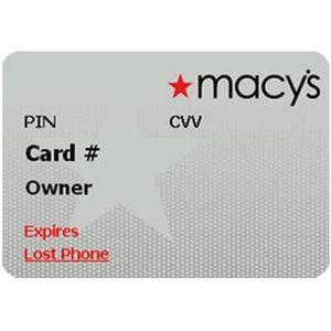 Macys - Platinum Star Rewards Credit Card