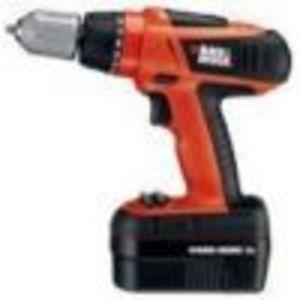 Black & Decker Volt Cordless Drill