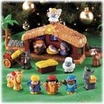 Fisher Price Deluxe Little People Nativity