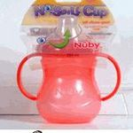 Nuby 10 oz No Spill Cup with soft silicone spout