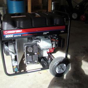Troybilt 8000KW Generator