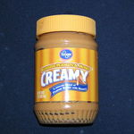 Kroger Creamy Peanut Butter with Honey