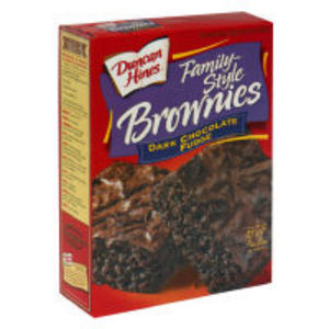 Duncan Hines Dark Chocolate Brownie mix