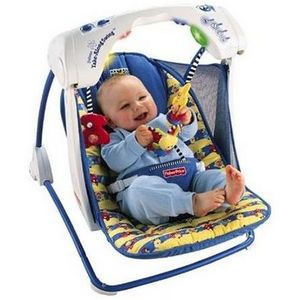 Fisher-Price Deluxe Take Along Baby Swing