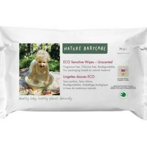Nature Babycare Sensitive Fragrance Free Baby Wipes