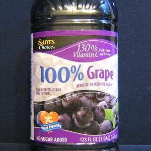 Sam's Choice 100% Grape Juice