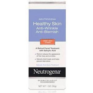 Neutrogena Healthy Skin Anti-Wrinkle Anti-Blemish Clear Skin Cream