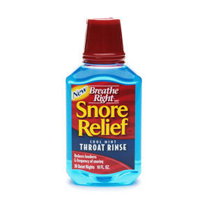 Breathe Right Snore Relief Throat Rinse