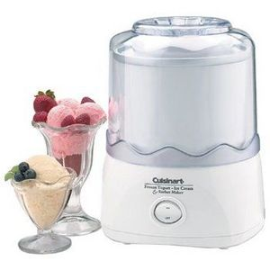 Cuisinart 1.5 Quart Automatic Frozen Yogurt-Ice Cream & Sorbet Maker #