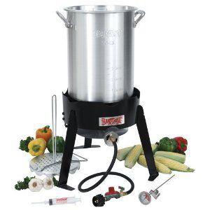 Bayou Classic 30-Quart Outdoor Turkey Fryer Kit