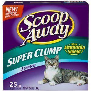 Scoop Away Super Clump Scented Cat Litter