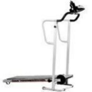 Phoenix Denise Austin Manual Treadmill with Space Saver Design