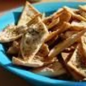 Trader Joe's - Reduced Guilt Whole Grain French Onion Pita Chips