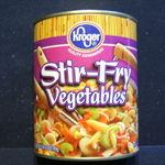 Kroger Stir-Fry Vegetables 28oz. Can