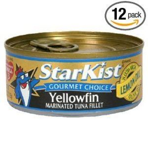 Starkist Gourmet Choice Yellowfin in Extra Virgin Olive Oil w/Lemon Dill