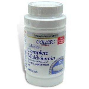 Equate Mature Complete Multivitamins
