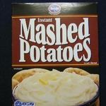 Kroger Instant Mashed Potatoes