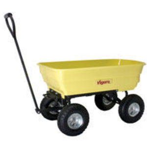 Vigoro Dumping Garden Cart - 1,000lb. Capacity