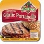 Veggie Patch Portobella and Garlic Burgers