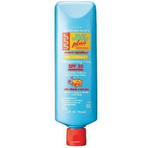 Avon SKIN SO SOFT Bug Guard Plus IR3535 SPF 30 Cool 'n Fabulous Disappearing Color Lotion
