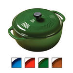 Lodge Color Enamel Cast Iron 6-Quart Dutch Oven