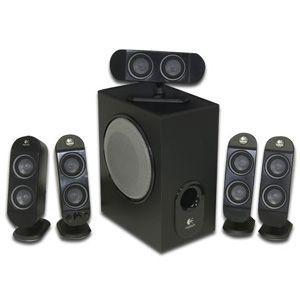 Logitech X 530 5.1-CH PC Multimedia Home Theater Speaker System