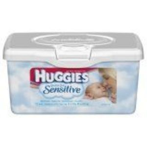 Huggies Sensitive Gentle Care Baby Wipes