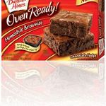 Duncan Hines Oven Ready Homestyle Brownies
