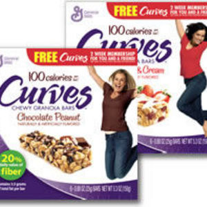 General Mills - Curves Chewy Granola Bars