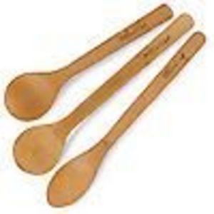 Pampered Chef Bamboo Spoon Set