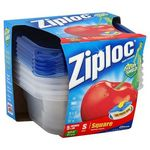 Ziploc 2 Cup Storage Container