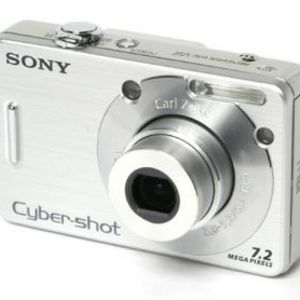 Sony - Cybershot W70 Digital Camera