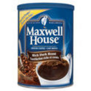 Maxwell House Dark Roast Coffee