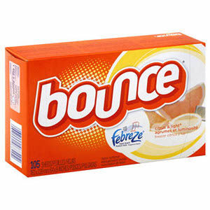 Bounce With Febreze Dryer Sheets - Citrus & Light