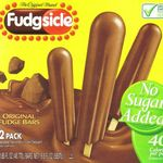 Fudgsicle Original Fudge Bars with No Sugar Added