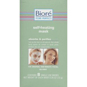 Biore Self-Heating Mask