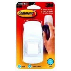 3M Command Jumbo Hook