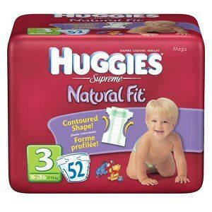 Huggies Supreme Natural Fit Diapers