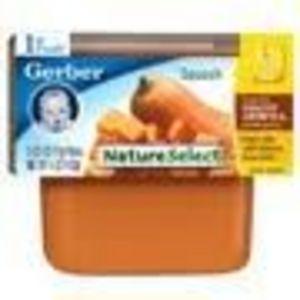 Gerber NatureSelect 1st Foods Squash