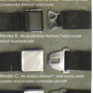 Amsafe Inc. Airplane Seat Belt Extenders