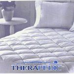 Therapedic 300 Thread Count Cotton Mattress Pad